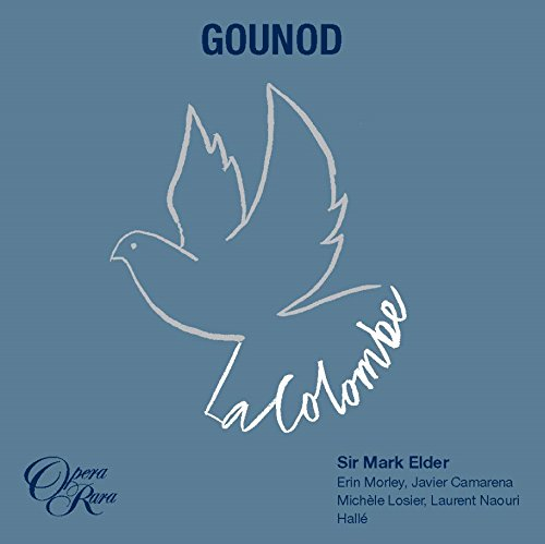 Couverture du CD La Colombe de Gounod.